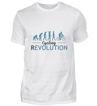 Bicycle Fahrrad Revolution Shirt