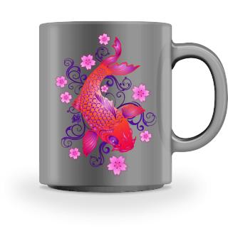 KOI Fish - Nishikigoi Sakura Blossoms 3
