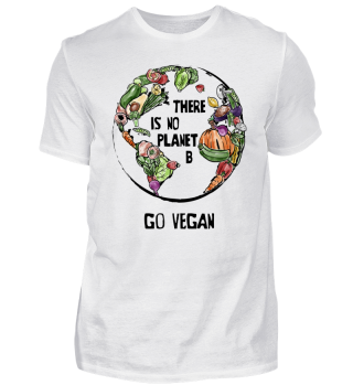 Go Vegan ➢ There Is No Planet B