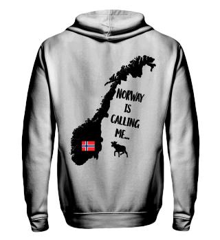Norway is calling me Unisex Hoodie