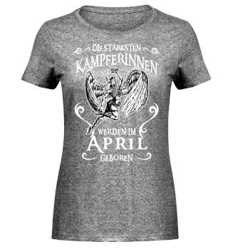 Die Stärksten Kämpferinnen - April