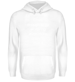 Crazy about skydiving - Gift