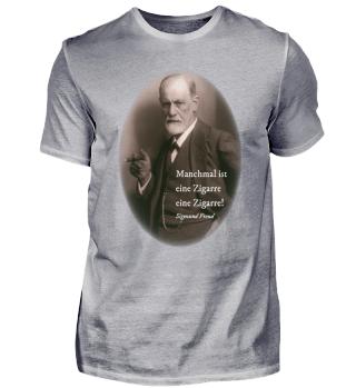 Sigmund Freud - Zigarre - Zitat