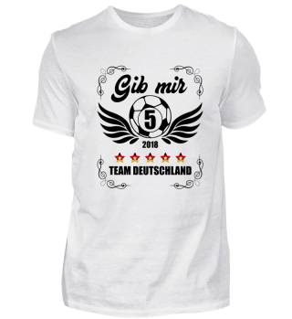 FUSSBALL SHIRT · GIB MIR FÜNF #1.4