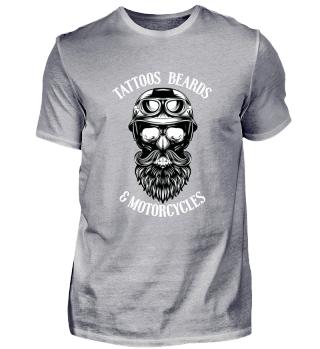 Tattoos-beards-motorcycles - Bart