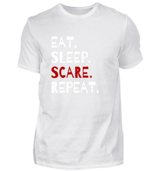 Eat Sleep Scare Repeat Halloween Gift