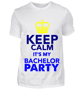 GIFT- KEEP CALM BACHELOR PARTY