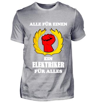 Alle für einen, ein Elektriker für Alles