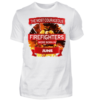courageous firefighters bron JUNE fire