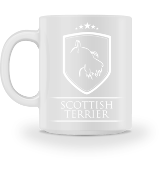 Tasse SCOTTISH TERRIER Wappen Hund