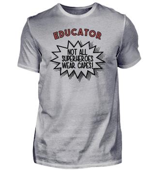 Superhero Capes Educator