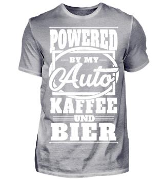 Powered by my Auto Kaffee und Bier