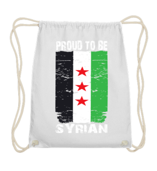 Proud to be Syrian