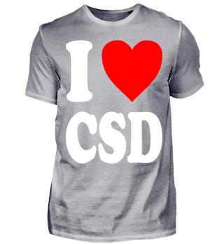 I love CSD