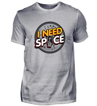 Edles Weltraum-Shirt Geschenkidee