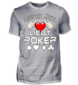 Dieser Kerl liebt Poker
