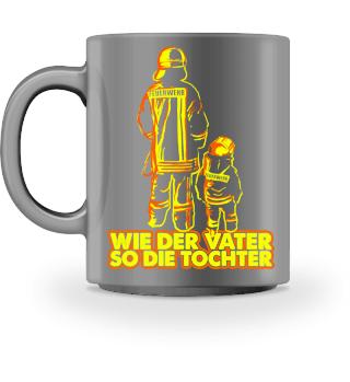 Feuerwehr Feuerwehrmann Vater Tochter
