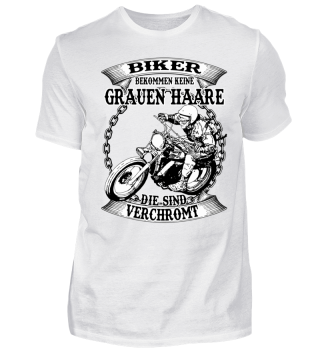 Biker bekommen keine grauen Haare