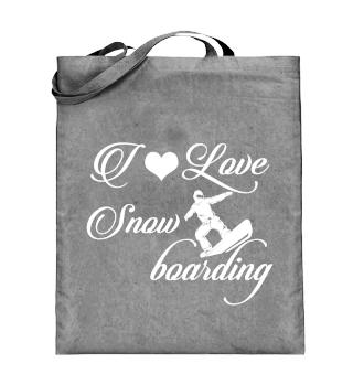 ☛ I LOVE SNOWBOARDING #4W