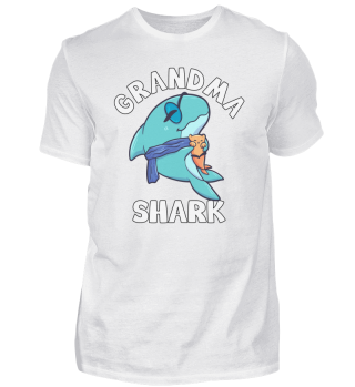 Grandma Shark grandma grandmother Hai wo