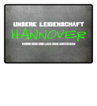 Fußmatte Hannover Leidenschaft