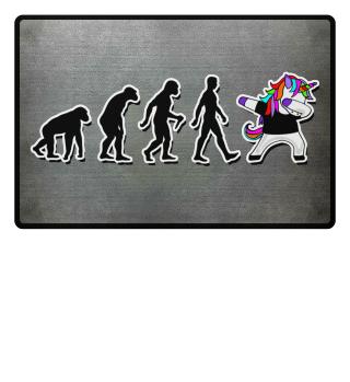 Evolution Of Humans - Dabbing Unicorn 3a
