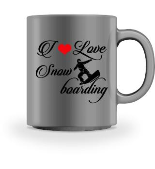 ♥ I LOVE SNOWBOARDING #4SRT