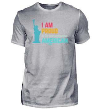 I Love USA America proud American