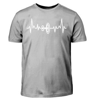 Darts - Dartscheibe Heartbeat