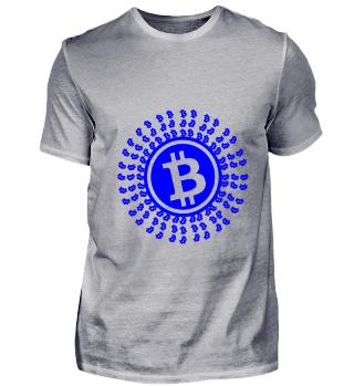 GIFT- BITCOIN CIRCLE BLUE