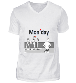 Monday Football Sport for Fit & Fun Wear
