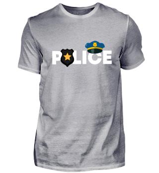 Polizei Sheriff! Geschenk Idee Job Bau