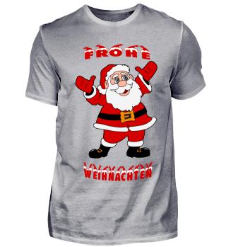 Frohe Weihnachten Santa Claus T-Shirt