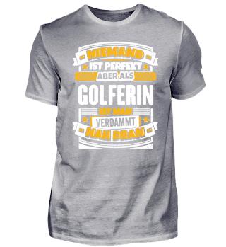 Geschenk Golferin