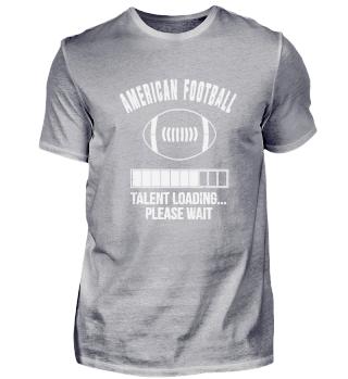 American Football Talent Bitte Warten