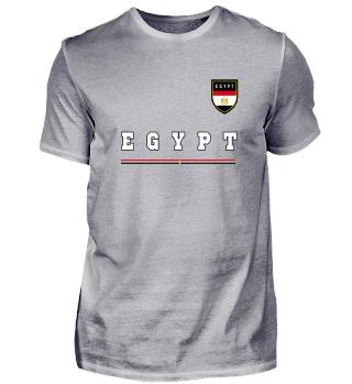 Egypt Ägypten Land Flagge Geschenk Idee