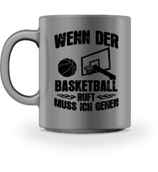 Basketball-Fan: Der Basketball ruft - Geschenk