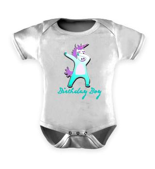 Cute Dabbing Unicorn - Birthday Boy