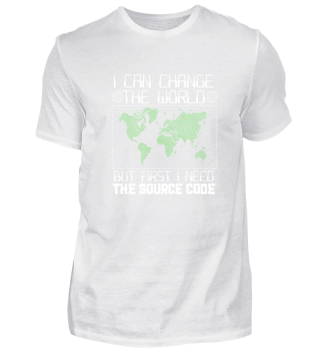 I can change the world Programmierer