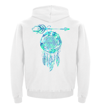FLOWER OF LIFE Sea Turtle Dreamcatcher 3