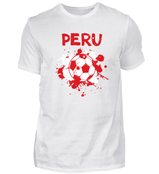 Peru Fussball Fußball Soccer Shirt Fan