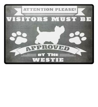 Westie Doormat