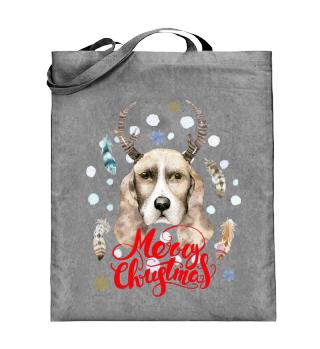 ☛ Merry Christmas · Boho Dog · Hund
