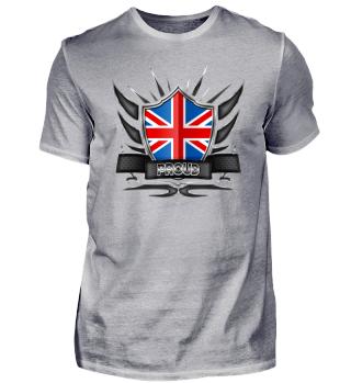 Great Britain Proud Wappen Flag 012