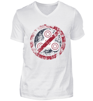 Anti fidget spinner shirt