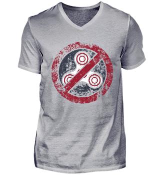 Anti fidget spinner shirt