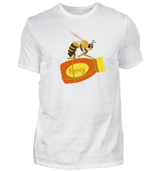 Fleißige Biene klaut Honig - Shirt