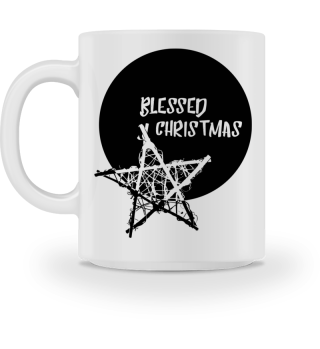 Blessed Christmas - Bamboo Star black 1