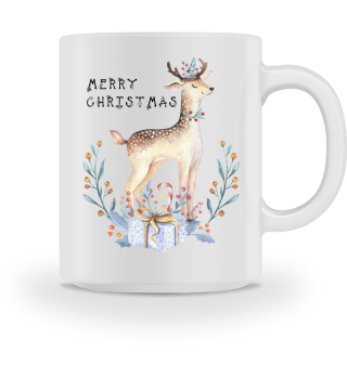 ♥ MERRY CHRISTMAS · DEER #9AT
