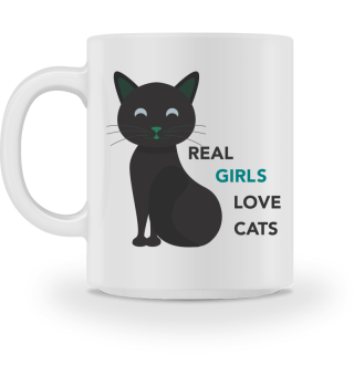 GIFT- REAL GIRLS LOVE CATS